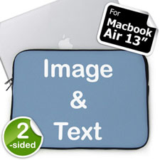Custom 2-sided MacBook Air 13 Sleeve