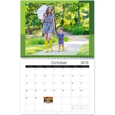 Personalized Modern Tones, Large Wall Calendar 11
