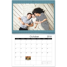 Personalized Small Grids, Large Wall Calendar (14
