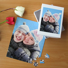 Love Portrait 12 or 50 or 100 Piece Puzzle