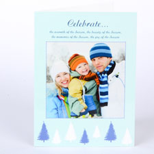 Custom Printed Sweet Winter Greeting Card