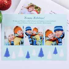 Create My Own Sweet Winter Three Collage Invitation Cards