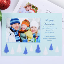 Create My Own Sweet Winter Landscape Invitation Cards