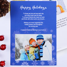 Create My Own Holiday Expressions Landscape Photo Invitation Cards