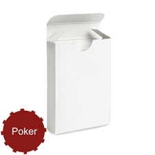 Poker Size Playing Card Deck Tuck Box