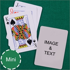 Mini Size Playing Cards Standard Index