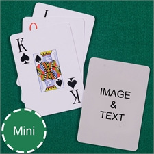 Mini Size Playing Cards Jumbo Index