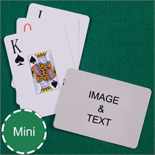 Mini Size Playing Cards Jumbo Index Landscape