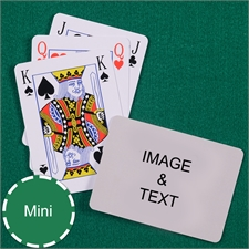 Mini Size Playing Cards Bridge Style Landscape
