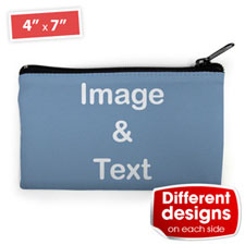 Cosmetic Bag (Small) – Custom 2 Sides Different Images