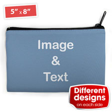 Cosmetic Bag (Medium) – Custom 2 Sides Different Images