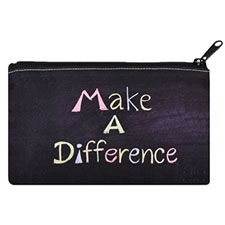 Custom Imprint Personalized Cosmetic Bag