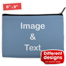 Personalized Cosmetic Bag (Large) - Different Images