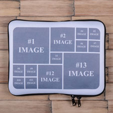 Instagram Thirteen Collage iPad Sleeve