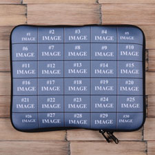 Facebook Thirty Collage Ipad Sleeve