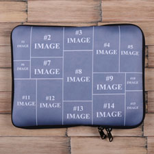 Facebook Fifteen Collage iPad Sleeve