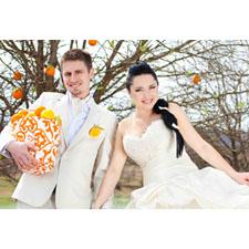 Horizontal Full Photo Wedding & Anniversary Animated Card