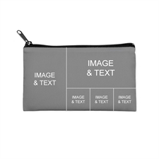 Facebook Five Collage Cosmetic Bag (Small) – Different Images