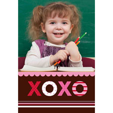 Xoxoxo Personalized Animated Invitation Card (4 X 6)