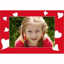 Many Hearts Personalized Animated Invitation Card (4 X 6)