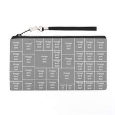 Personalized Instagram 39 Collage 5.5X10 (2 Side Same Image) Clutch Bag