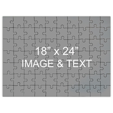 Jumbo Personalized Message Puzzle 18