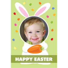 Sweet Little Bunny 3D Photo Card