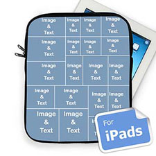 Nine Collage Ipad Sleeve For Facebook Photos