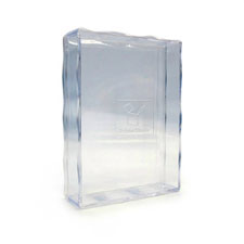 2.25X3.5 Inch Clear Plastic Box For 54 Bridge Size Playing Card Deck