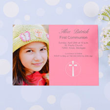 Holy Date - Watermelon Communication Photo Invitation