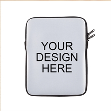 Print Your Design Ipad Sleeve Black Zipper