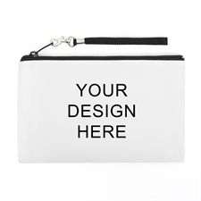 Personalized Custom Full Color Print (2 Side Same Image) Wristlet Bag (Medium Inch)