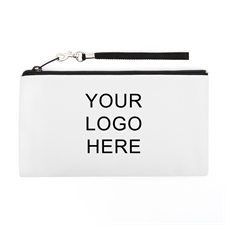 Personalized Custom Imprint Promotional 5.5X10 (2 Side Same Logo) Clutch Bag (5.5X10 Inch)