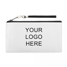 Personalized Custom Imprint Promotional 5.5X10 (2 Side Same Logo) Clutch Bag
