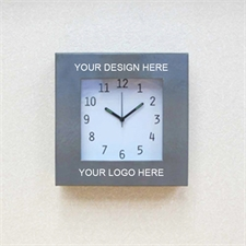 Custom Imprint Design Personalized Clock