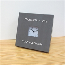Custom Business Logo Personalized Clock