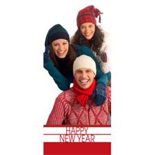 Personalized Flourishing New Year Lenticular Bookmark