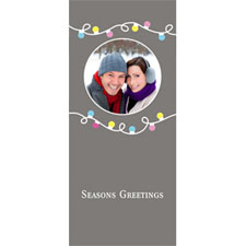 Personalized Joyful And Bright Lenticular Bookmark