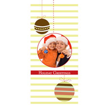 Personalized Swinging Ornaments Lenticular Bookmark