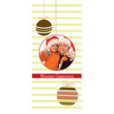 Personalized Swinging Ornaments Lenticular Bookmark