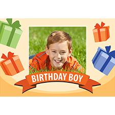 Personalized Birthday Boy Lenticular Greeting Card
