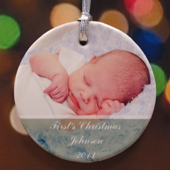 Personalized Best Wishes Ornament