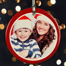 Personalized Christmas Frame Ornament
