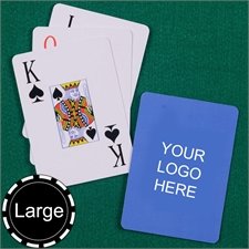 Custom Printed Jumbo Size Jumbo Index Playing Cards