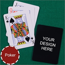 Personalized Design Poker Size Standard Index Playing Cards