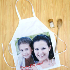 Square Photo Personalized Kids Apron