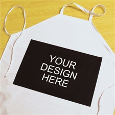 Print Your Design Landscape Artwork Adult Apron