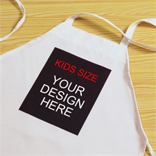 Custom Imprint Small Portrait Personalized Kids Apron