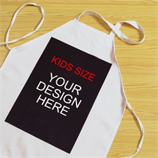 Custom Imprint Portrait Kids Apron