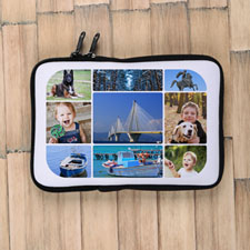 Nine Collage Ipad Mini Sleeve
